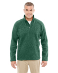 Alpha Broder DG792 Adult Bristol Sweater Fleece Quarter-Zip