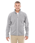 Alpha Broder DG793 Men's Bristol Full-Zip Sweater Fleece Jacket