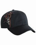Alpha Broder DI3320 3d Applique Buck Cap