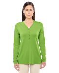 Alpha Broder DP186W Ladie's Perfect Fit Y-Placket Convertible Sleeve Knit Top