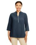 Alpha Broder DP611W Ladie's Perfect Fit™ 3/4-Sleeve Crepe Tunic