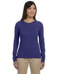 Alpha Broder EC3500 Ladies' 4.4 oz., 100% Organic Cotton Long-Sleeve T-Shirt