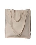 Alpha Broder EC8040 9 Oz. Organic Cotton Canvas Market Tote