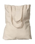 Alpha Broder EC8056 7 Oz. Organic Cotton Eco Promo Tote