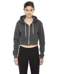 Alpha Broder F397W Ladie's Cropped Flex Fleece Zip Hoodie