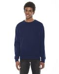 Alpha Broder F496W Unisex Flex Fleece Drop Shoulder Pullover Crewneck