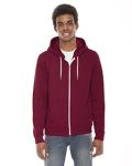 Alpha Broder F497W Unisex Flex Fleece Zip Hoodie