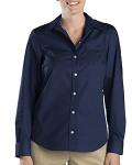 Alpha Broder FL036 5 oz. Women's Long-Sleeve Stretch Poplin Shirt