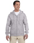 Alpha Broder G126 Adult Dryblend® Adult 9 Oz., 50/50 Full-Zip Hood