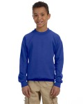 Alpha Broder G180B Youth Heavy Blend™ 8 Oz., 50/50 Fleece Crew