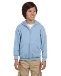 Alpha Broder G186B Youth Heavy Blend™ 8 Oz., 50/50 Full-Zip Hood