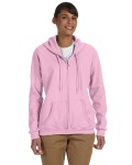Alpha Broder G186FL Ladie's Heavy Blend™ Ladie's 8 Oz., 50/50 Full-Zip Hood
