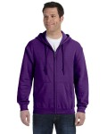 Alpha Broder G186 Adult Heavy Blend™ Adult 8 Oz., 50/50 Full-Zip Hood
