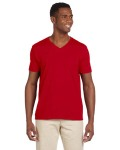 Alpha Broder G64V 4.5 oz SoftStyle V-Neck T-Shirt