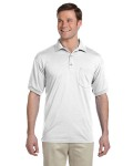 Alpha Broder G890 Adult 6 Oz., 50/50 Jersey Polo With Pocket
