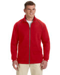 Alpha Broder G929 Adult Premium Cotton® Adult 9 Oz. Fleece Full-Zip Jacket