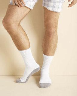 Alpha Broder GP751 Adult Platinum™ Adult Crew Socks
