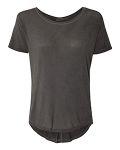 Alpha Broder JA8127 Ladies Oasis Drop Tail T-Shirt