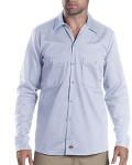 Alpha Broder LL307T 6 Oz. Tall Industrial Long-Sleeve Cotton Work Shirt
