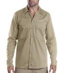 Alpha Broder LL307 6 Oz. Industrial Long-Sleeve Cotton Work Shirt