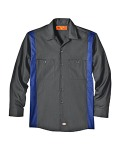Alpha Broder LL524T 4.5 Oz. Industrial Long-Sleeve Color Block Shirt