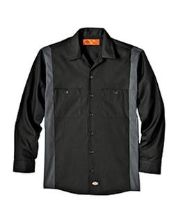Alpha Broder LL524 4.5 Oz. Industrial Long-Sleeve Color Block Shirt