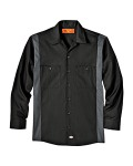 Alpha Broder LL524 4.5 Oz. Industrial Long-Sleeve Color Block Shirt