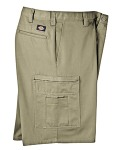 "Broder Bros. LR337 7.75 oz., 11"" Industrial Cotton Cargo Short"