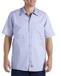 Alpha Broder LS307 6 Oz. Industrial Short-Sleeve Cotton Work Shirt