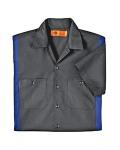 Alpha Broder LS524 4.5 oz. Industrial Short-Sleeve Color Block Shirt