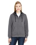 Alpha Broder LSF73R Ladie's 7.2 Oz. Sofspun® Full-Zip Hooded Sweatshirt
