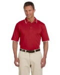 Alpha Broder M210 Adult 6 Oz. Short-Sleeve Pique Polo With Tipping