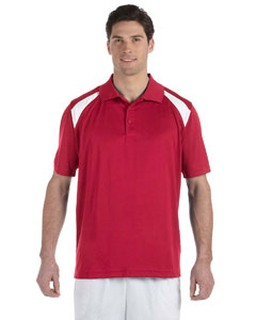 Alpha Broder M318 4 Oz. Polytech Colorblock Polo