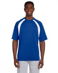 Alpha Broder M322 4.2 Oz. Athletic Sport Colorblock T-Shirt