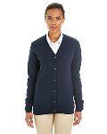 Alpha Broder M425W Ladie's Pilbloc™ V-Neck Button Cardigan Sweater