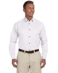 Alpha Broder M500T Men's Tall Easy Blend™ Long-Sleeve Twill Shirt With Stain-Release
