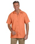 Alpha Broder M560 Men's Barbados Textured Camp shirt