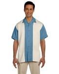 Alpha Broder M575 Men's Two-Tone Bahama Cord Camp Shirt