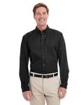 Alpha Broder M581T Men's Tall Foundation 100% Cotton Long-Sleeve Twill Shirt With Teflon™