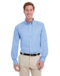 Alpha Broder M581 Men's Foundation 100% Cotton Long-Sleeve Twill Shirt With teflon™
