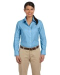 Alpha Broder M600W Ladie's Long-Sleeve Oxford With Stain-Release