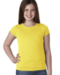 Alpha Broder N3710 Youth Girls? Princess T-Shirt