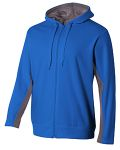 Alpha Broder N4251 Adult Tech Fleece Full Zip Hooded Sweatshirt