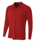 Alpha Broder N4268 Adult Daily Polyester 1/4 Zip