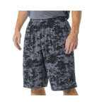 "Alpha Broder N5322 Adult 10"" Inseam Printed Camo Performance Shorts"
