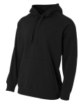 Alpha Broder NB4237 Youth Solid Tech Fleece Pulloever Hoodie