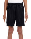 "Alpha Broder NB5301 Youth 6"" Inseam Lined Tricot Mesh Shorts"
