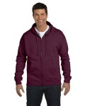Alpha Broder P180 Adult 7.8 Oz. Ecosmart® 50/50 Full-Zip Hood