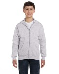Alpha Broder P480 Youth 7.8 Oz. Ecosmart® 50/50 Full-Zip Hood