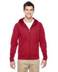 Alpha Broder PF93MR Adult 6 Oz. Dri-Power® Sport Full-Zip Hooded Sweatshirt